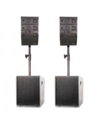 NGS COMBO 1224A 500W - комплект акустики
