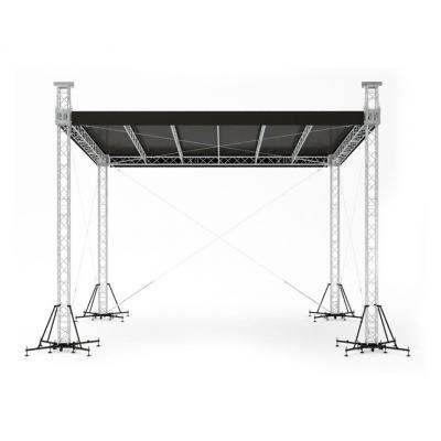 Односкатная крыша Alustage STR 12,5х10х8