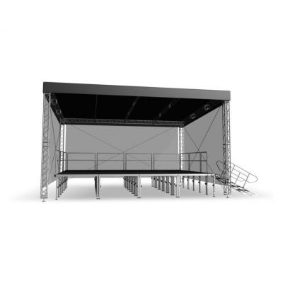 Односкатная крыша Alustage STR Light 8х6