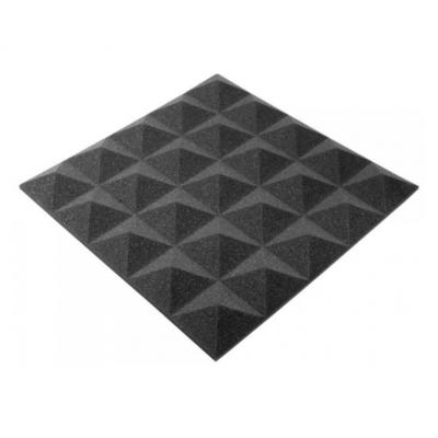 Панель из акустического поролона Ecosound пирамида Pyramid Gain Black 30 мм.45х45см цвет черный графит