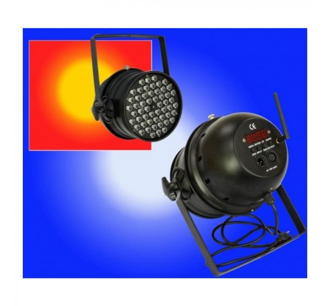 Пар New Light LED-136 LED PAR64 LIGHT 54*3W + 2.4G Беспроводной DMX