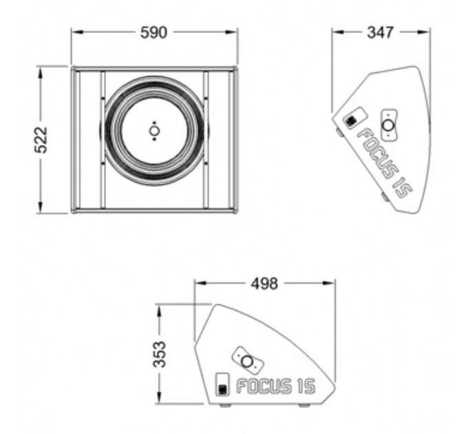 Пассивный монитор MAG Focus 15