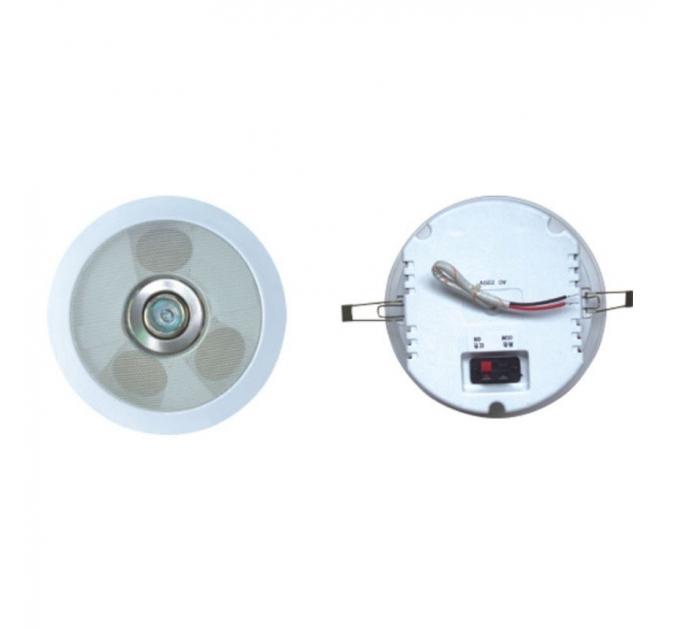 """Потолочный динамик Younasi Y-081, 3х2"""", 3-6Вт, 100В + 220В (лампа)"""