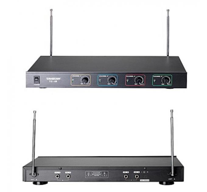 Приемник беспроводной микрофонной системы Takstar TC-4R четырехканальный