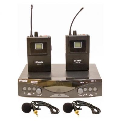 Радиосистема DV audio MGX-24B с петличными микрофонами