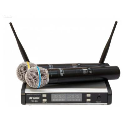 Радиосистема DV audio PGX-224 Dual сдвоенная