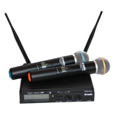 Беспроводные микрофоны DV-AUDIO PGX-24 Dual