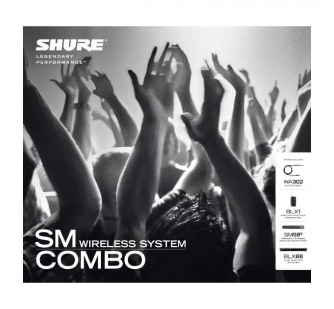 Радиосистема SHURE BLX1288/SM58