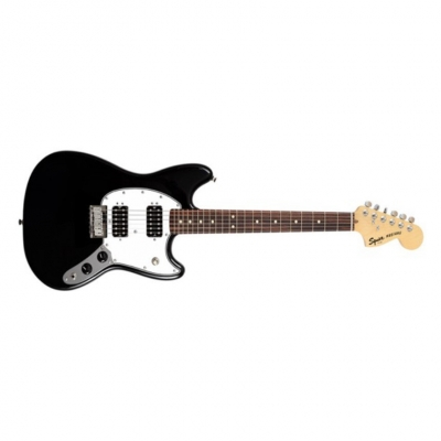 SQUIER by FENDER SQ BULLET MUSTANG HH BLK Электрогитара