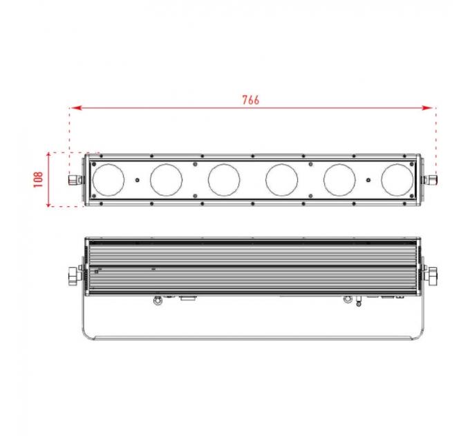Светодиодная панель MATRIX BAR 6