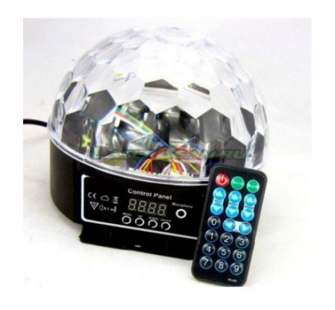 Светодиодный диско шар STLS VS-25 c пультом д.у.