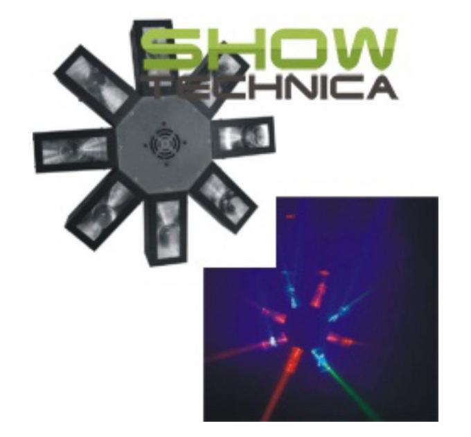 Светодиодный прибор BIG BMOCTOPUS