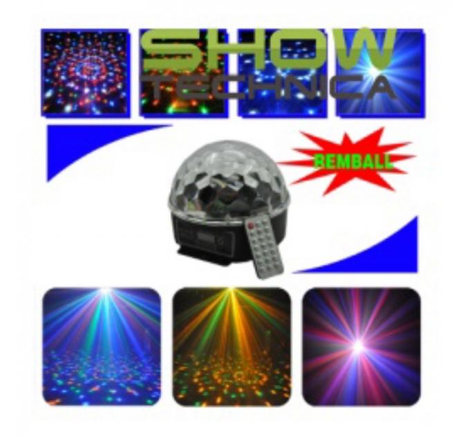 Светодиоидный диско шар Hot Top REMBALL