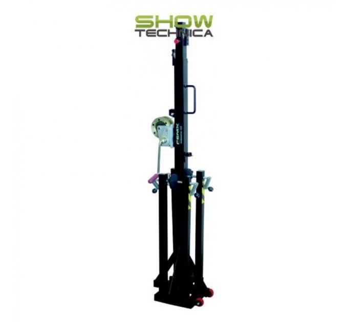 Телескопическая башня с традиционной системой для ног Fenix MEGARA 100
