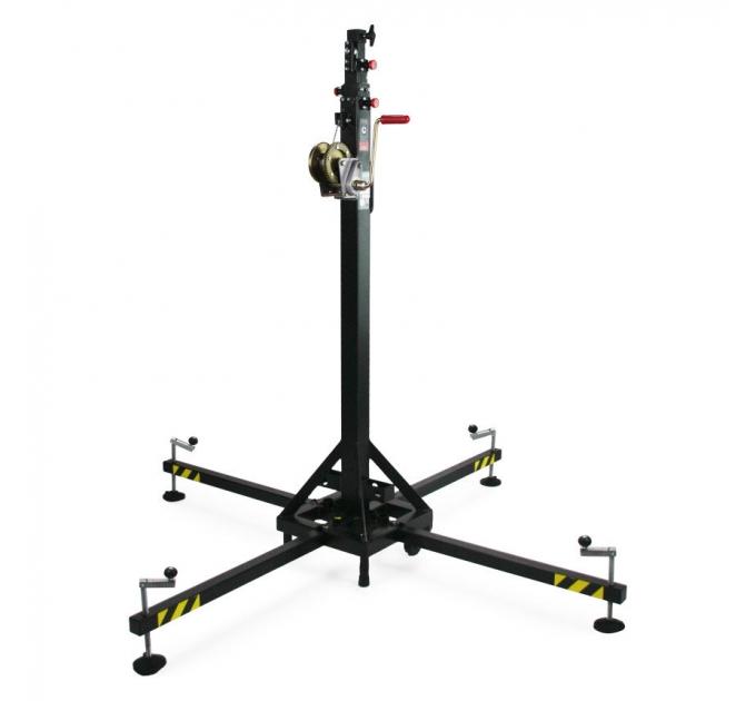 Телескопическая башня с традиционной системой для ног Fenix MEGARA 150