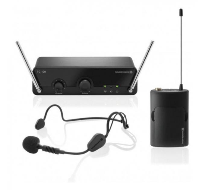 Беспроводный микрофон Beyerdynamic TG 100 B-Set 194-204 MHz