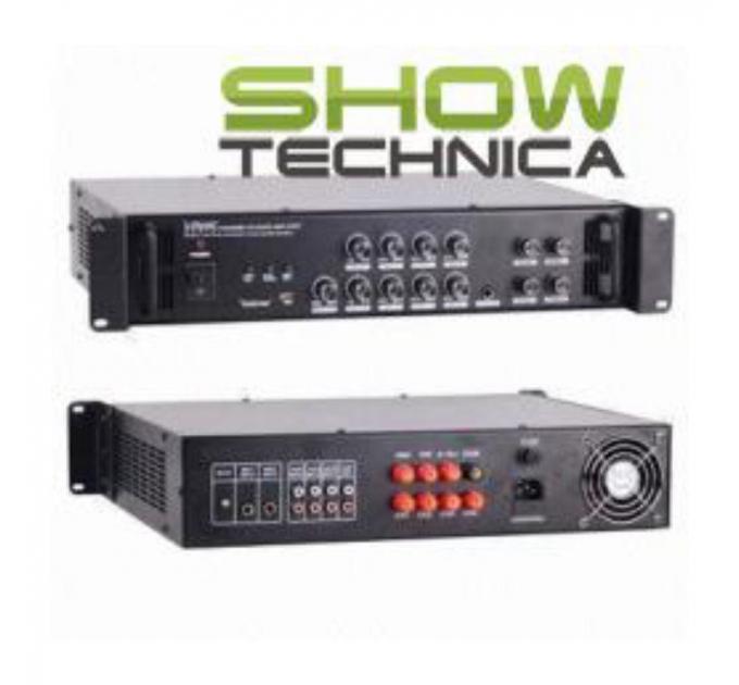 Трансляционный усилитель BIG PA4ZONE250-MP3/FM