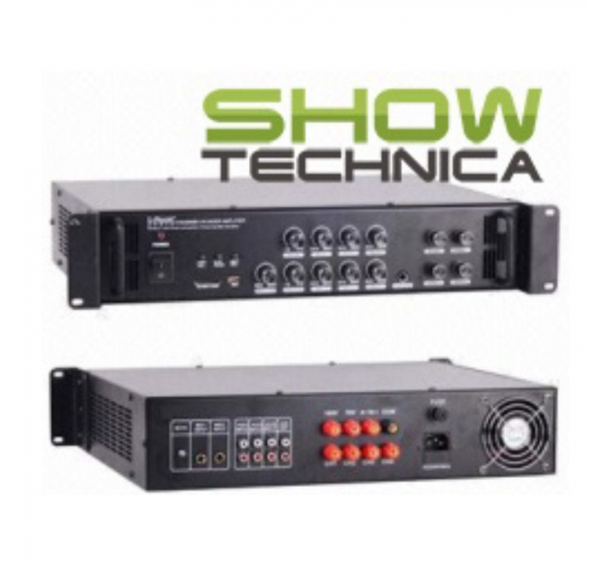 Трансляционный усилитель BIG PA4ZONE500-MP3/FM