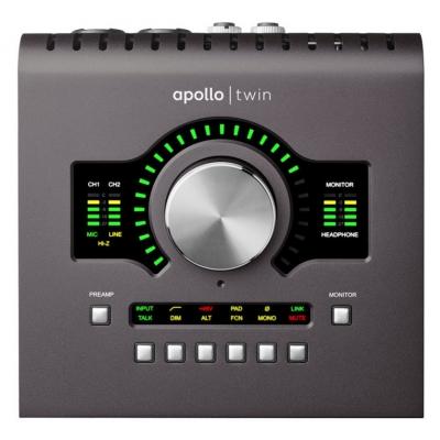 Аудиоинтерфейс UNIVERSAL AUDIO Apollo Twin Quad MKII