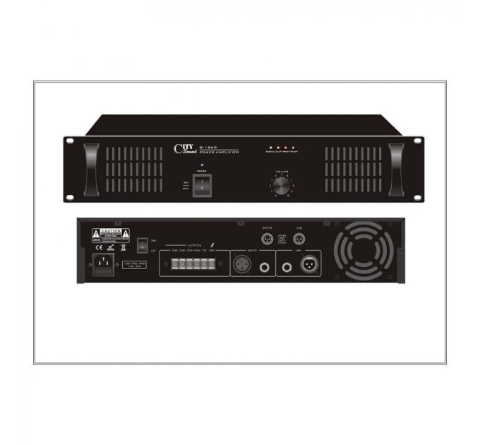 Усилитель City Sound G-1S60, 60 Вт, одноканальный