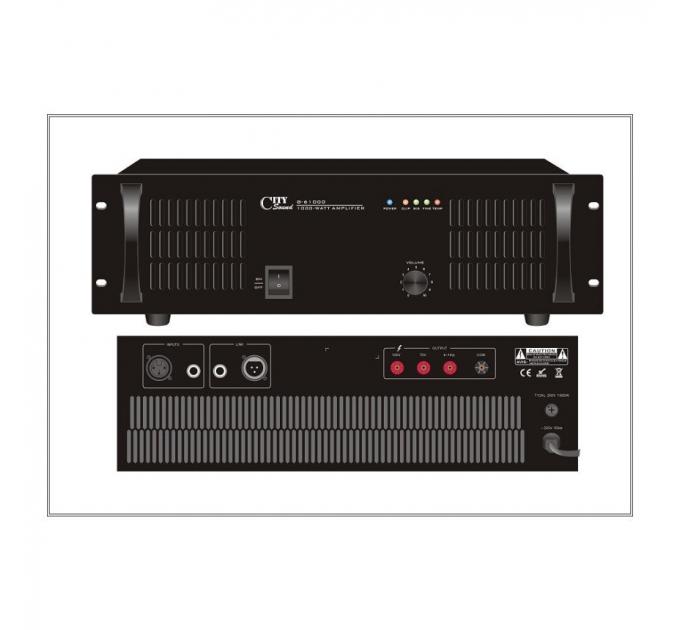 Усилитель City Sound G-61000, 1000 Вт, одноканальный