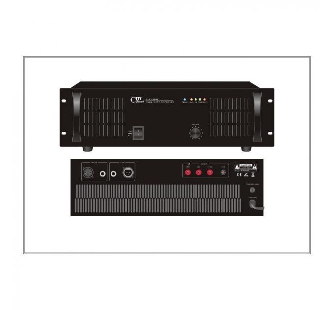Усилитель City Sound G-61500, 1500 Вт, одноканальный