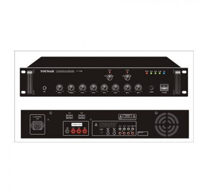 Усилитель Younasi Y-110B, 120Вт, USB, 2 zones