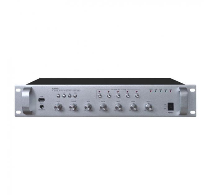 Усилитель Younasi Y-1200FU, 200Вт, USB, 5 zones