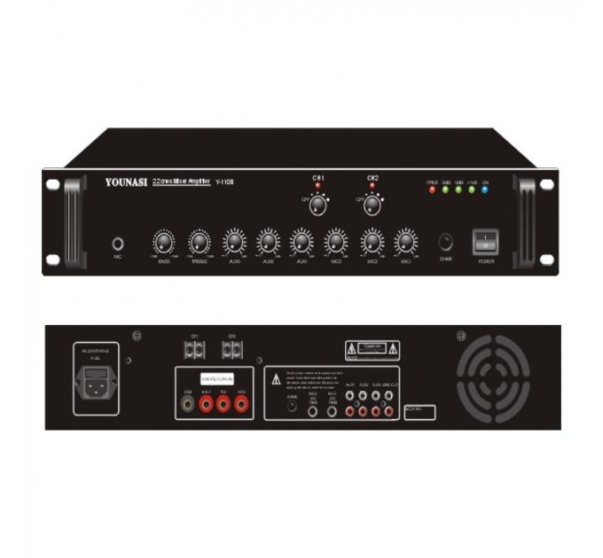 Усилитель Younasi Y-220B, 240Вт, USB, 2 zones
