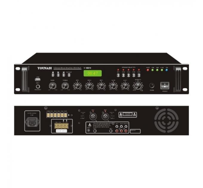 Усилитель Younasi Y-300FU, 320Вт, USB, 5 zones