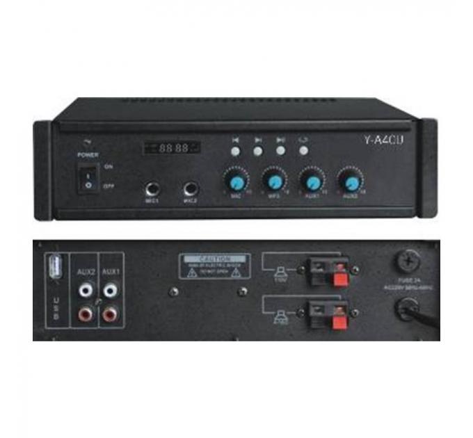 Трансляционный усилитель Younasi Y-A40U, 25 Вт, 110V, USB, SD