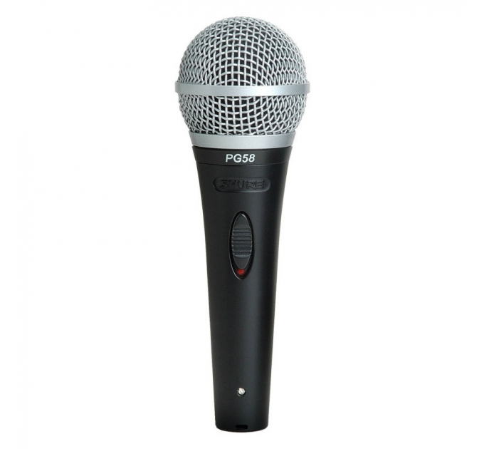 Вокальный микрофон SHURE PG58-QTR