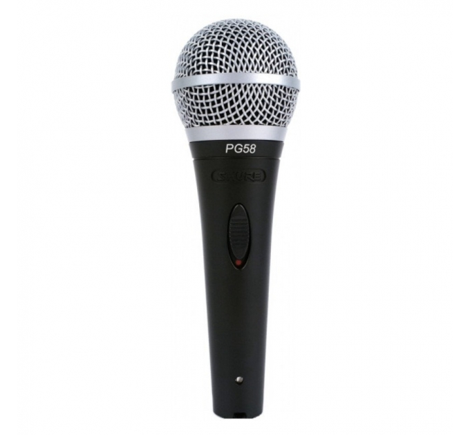 Вокальный микрофон SHURE PG58-XLR-B
