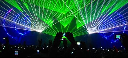 Прожекторы для дискотеки: какие бывают?