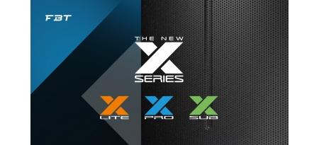 FBT X-Series — полное обновление линейки активной акустики